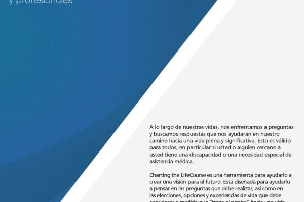 Graphic: LifeCourse Cuaderno de experiencias y preguntas