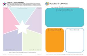 Graphic: Screenshot of My LifeCourse Portfolio - Expanded - ESPANOL