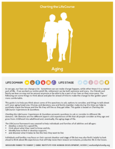 Graphic: Screenshot of Charting the LifeCourse: Focus on Aging