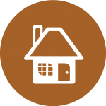Graphic: Community Living LifeCourse icon