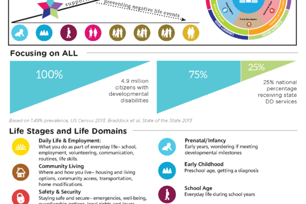 Graphic: Screenshot of LifeCourse Infographic, August 2016