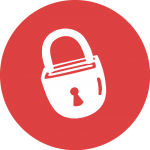 Graphic: Safety & Security LifeCourse icon